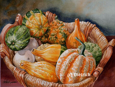 Charme rustique (courges)